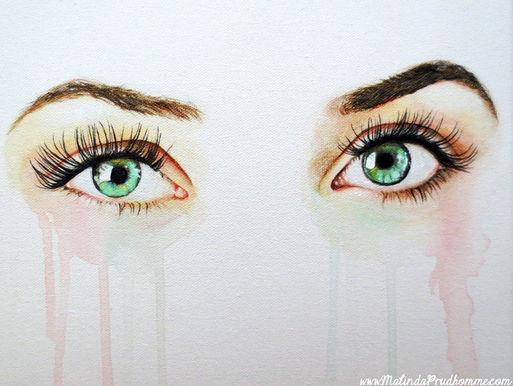 seeing into the soul, eye painting, eye art, eye artwork, realistic eyes, colouring eye, portrait artist, toronto, canadian portrait artist, blue eyes, green eyes