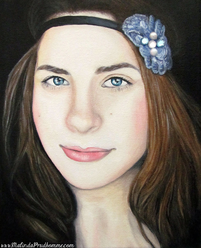 toronto portrait artist, canadian portrait artist, beauty art