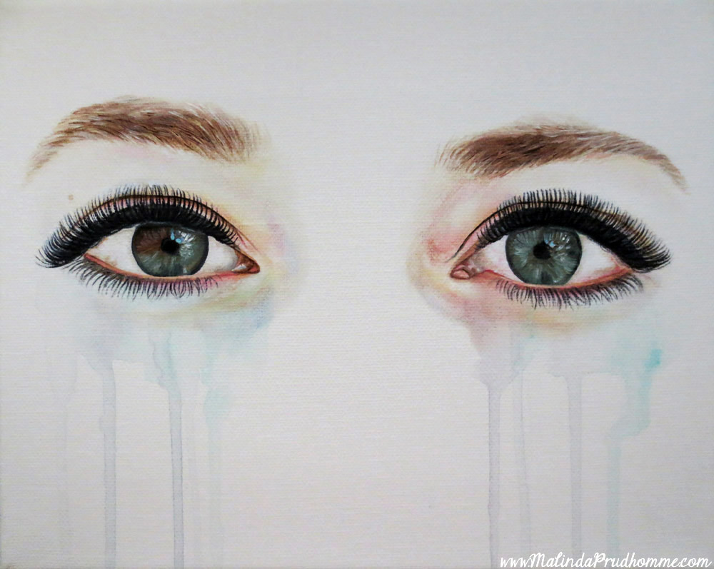 Custom Eye Painting | Toronto Portrait Artist | Beauty Art  Custom Eye Pain...